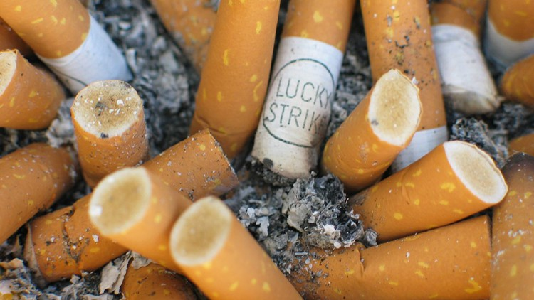 Sadly, cigarette butts up your nose won't protect you from pollution