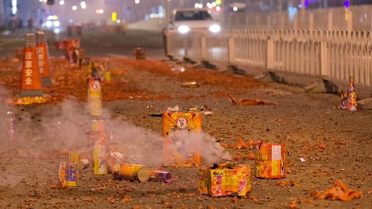 Beijing declares War on Spring Festival, fireworks to be banned in heavy smog