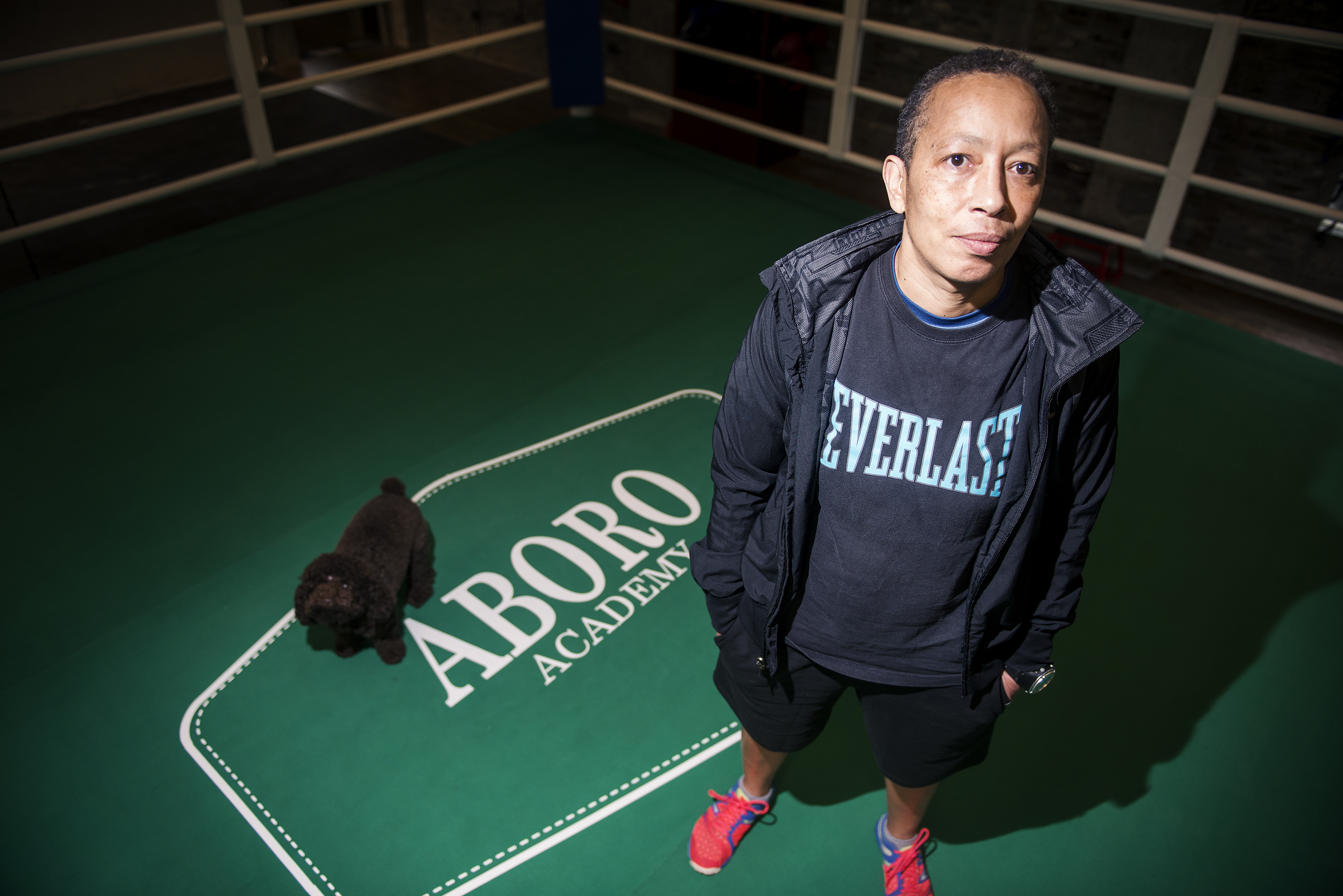 Michele Aboro: Boxing world champ talks punches, prostitutes and poodles