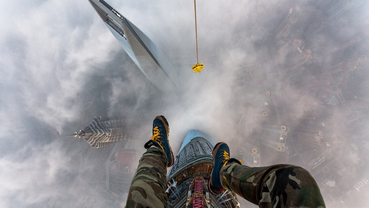 We spoke to the Russian daredevils who climbed the Shanghai Tower