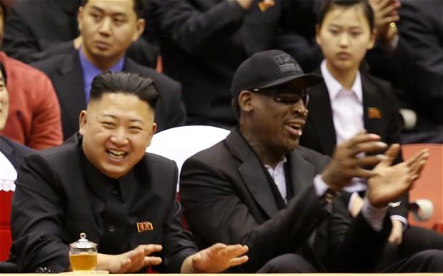 Dennis Rodman-Kim Jong-un bromance to be turned into a movie