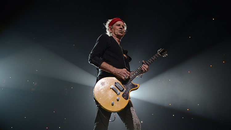Keith Richards talks passing up a knighthood, China, and 50 years of the Rolling Stones