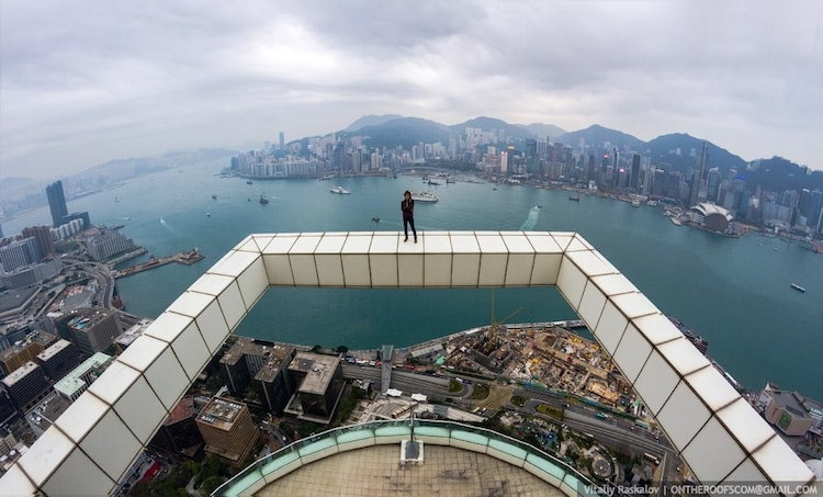 8 amazing new photos and 2 videos from the rooftops of Hong Kong and Shanghai