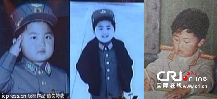 Here are some photos of Kim Jong-un as a small boy