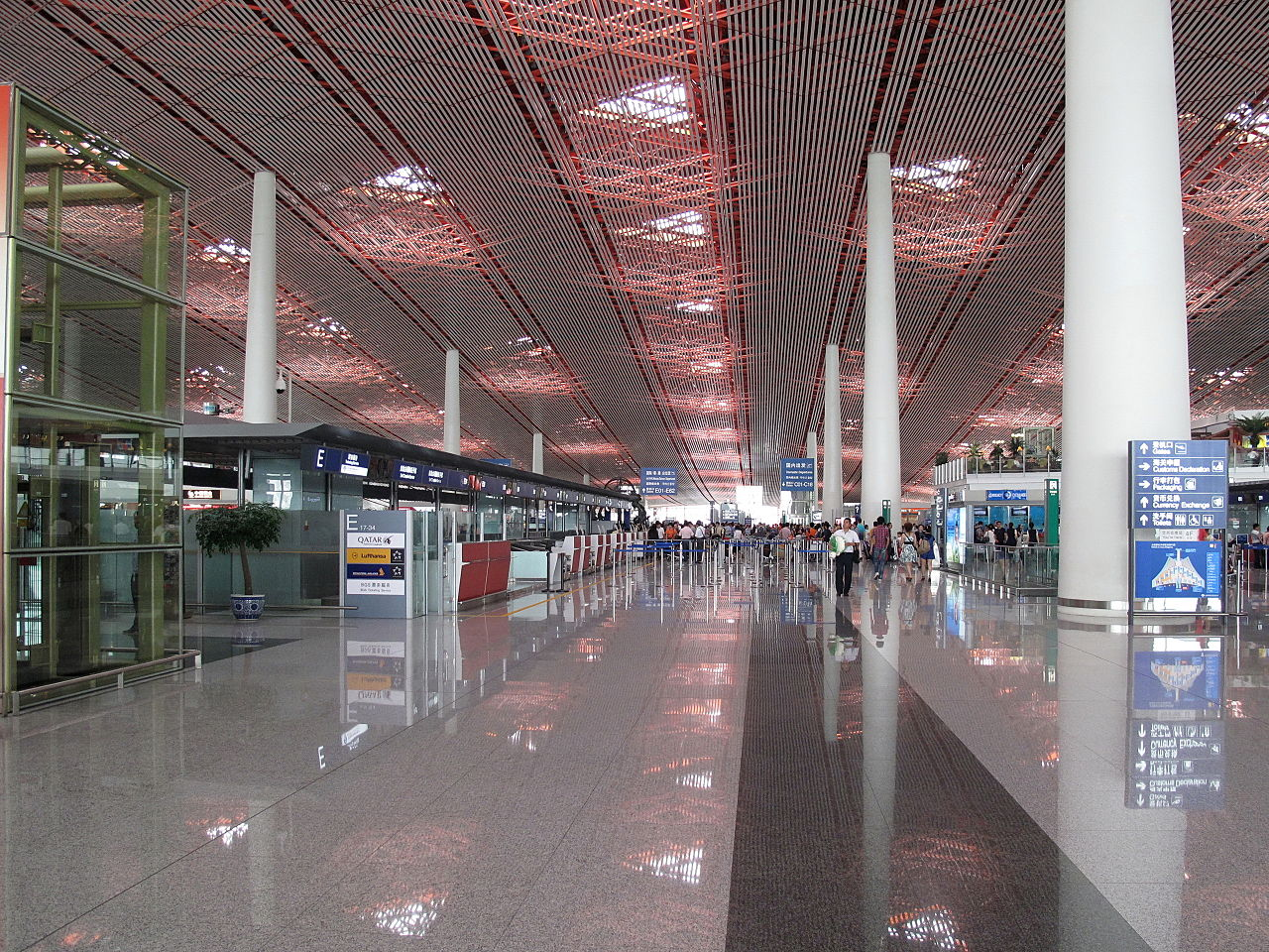 Expat falls to his death at Beijing airport