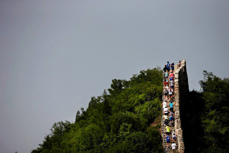 Photos from The Great Wall Marathon 2014