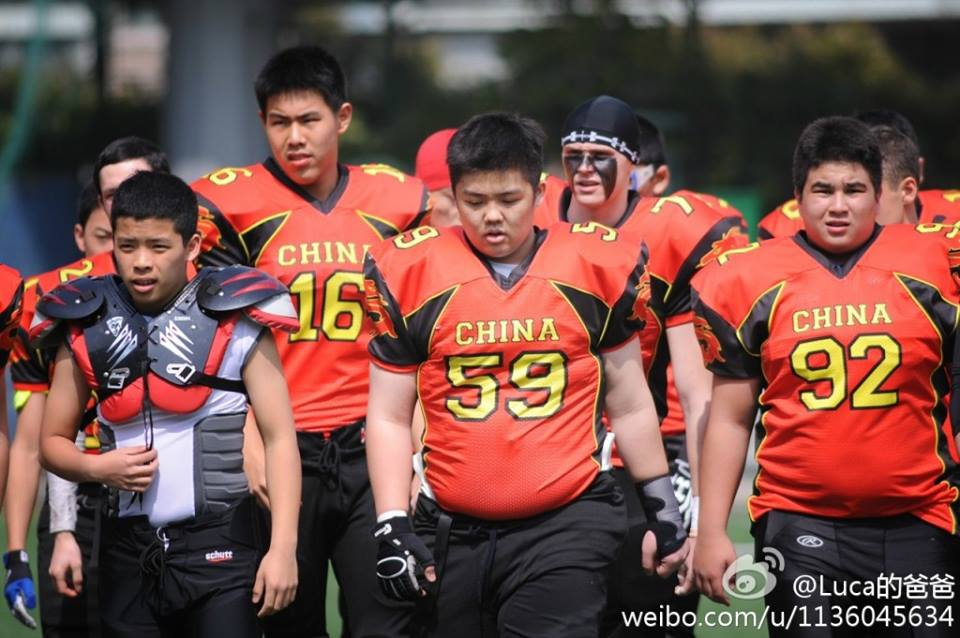 China Sea Dragons hosts first UAE in Mainland's first international youth American football game
