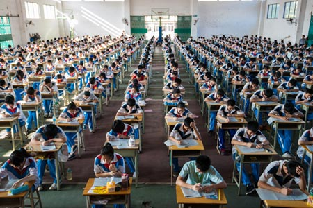 Gaokao, China's grueling national entrance exam