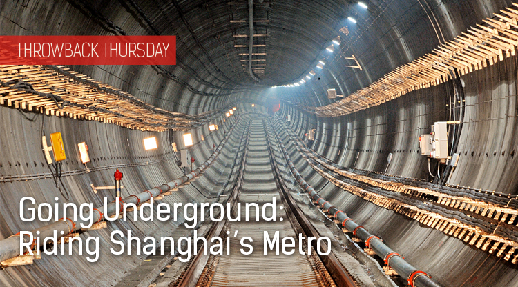 Throwback Thursday: Riding Shanghai's Metro
