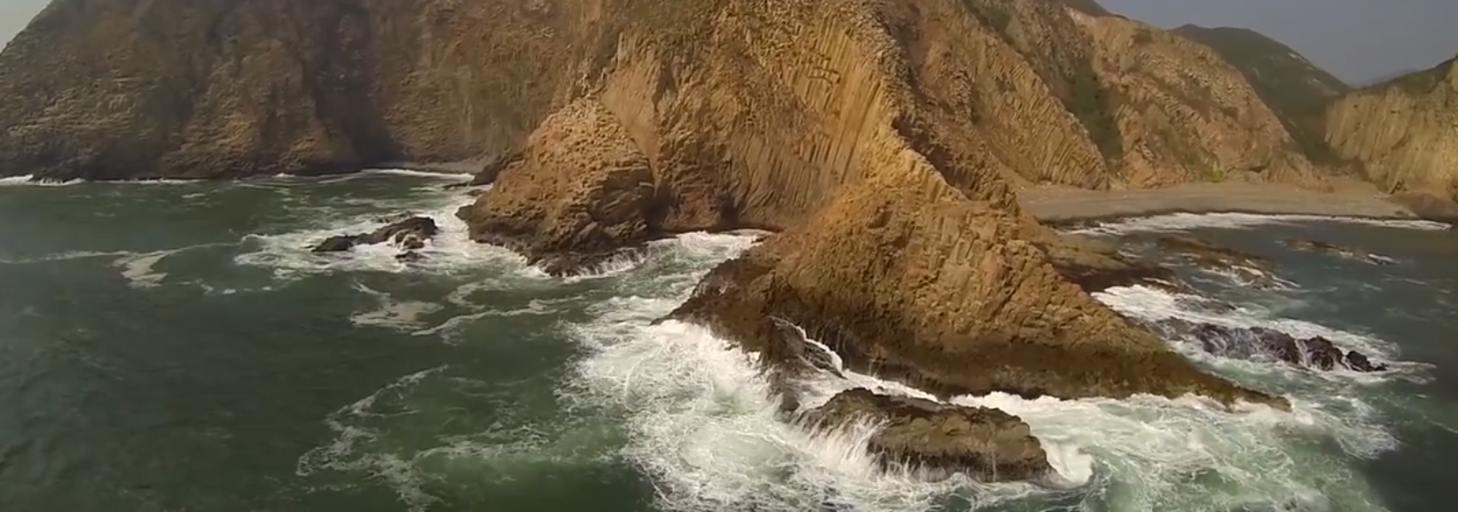 WATCH: Aerial video of mountains and seas of Hong Kong