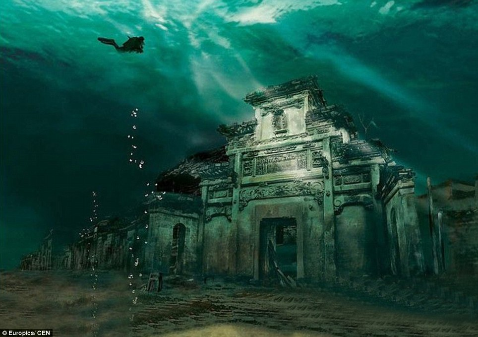 PHOTOS: China's own Atlantis, an Ancient City Preserved Beneath a Man-Made Lake