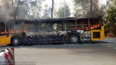1 dead and 19 injured after another deadly bus arson attack hits Yantai, Shandong