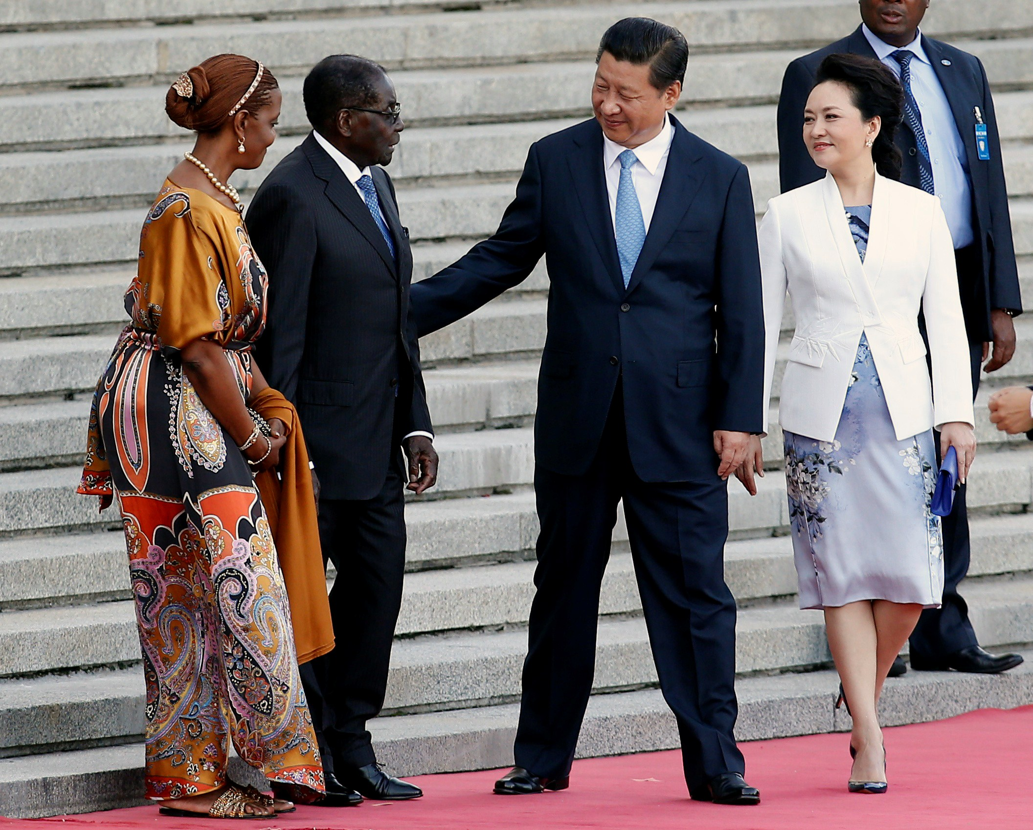 China welcomes back 'old friend' Robert Mugabe for state visit