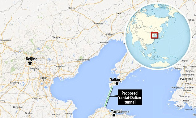 China to build longest underwater tunnel in the whole wide world