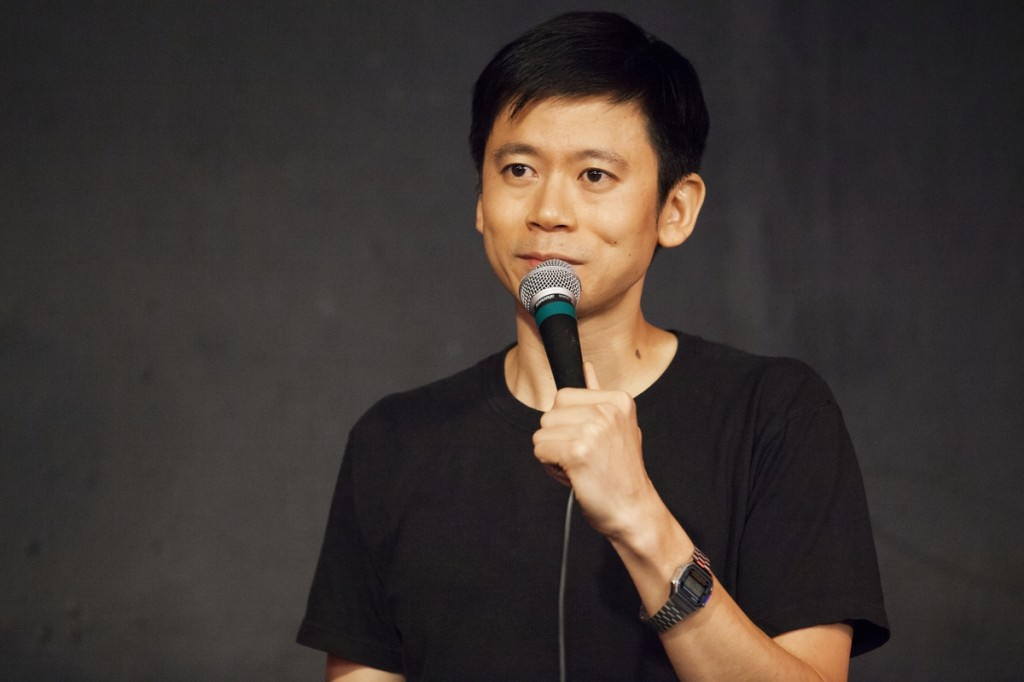 Kung Fu Komedy hosts Shang Wang -  The affable and absurd Taiwanese Texan