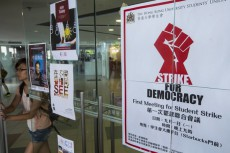 Students across Hong Kong boycott class to demand democracy