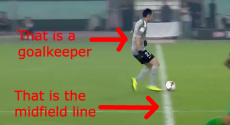 WATCH: Beijing Guo'an goalkeeper tries to dribble round entire Tianjin team