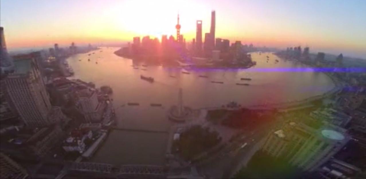 WATCH: Amazing aerial video of the Shanghai Bund