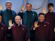 APEC leaders' Star Trek-esque costumes reach the final frontier of fashion