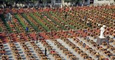 PHOTOS: This is how kids in Shaanxi take exams now - al fresco, and en masse