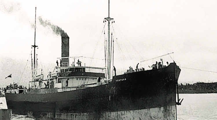 Shipwreck full of 500 Chinese miners found... 112 years after it disappeared