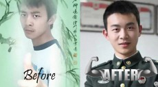 From pansy to PLAyer: These before/after Chinese army photos are amazing
