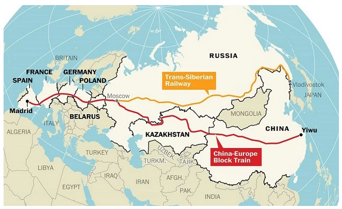 Yiwu-Madrid is now the longest train journey in the world