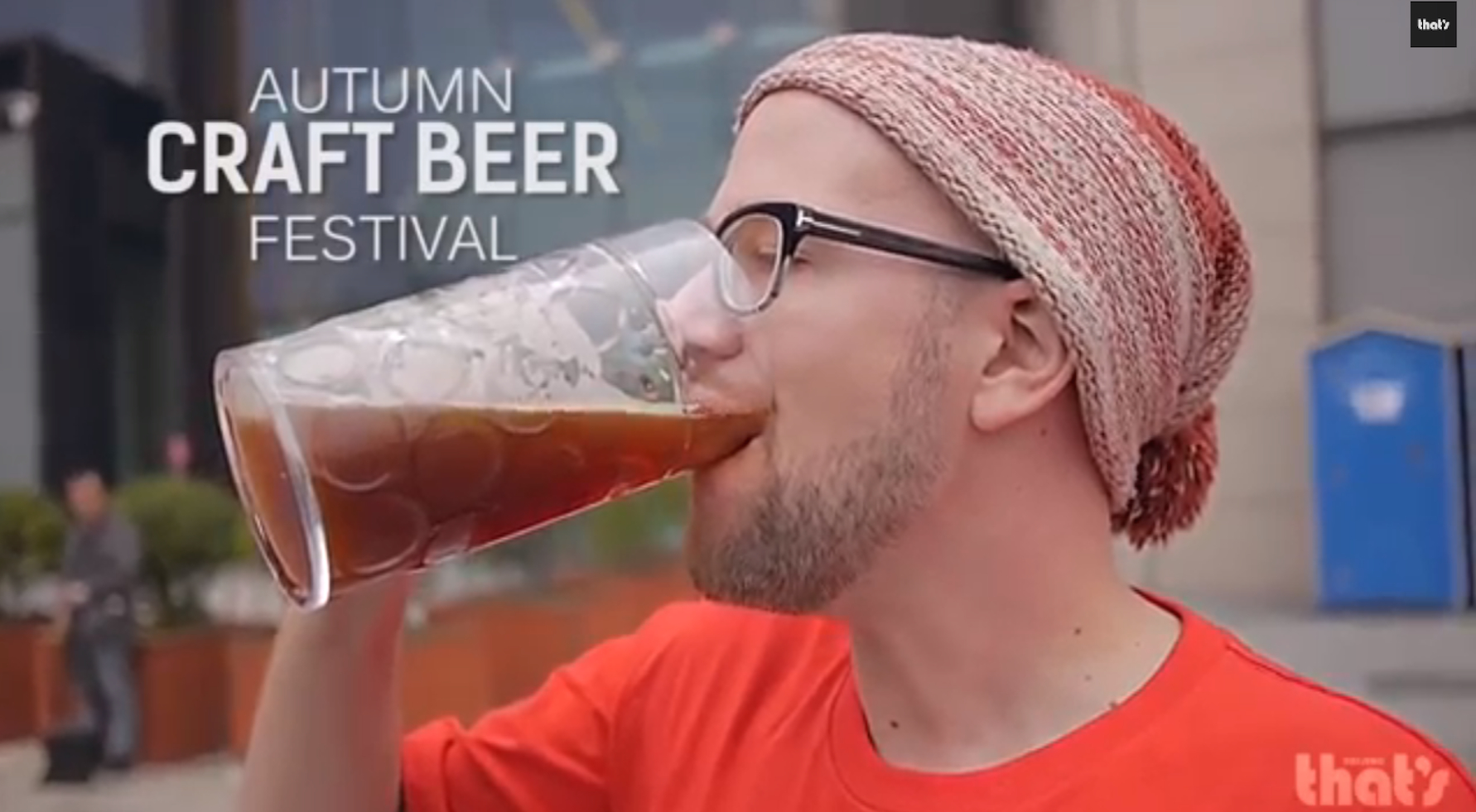 Video Round-up of the Autumn Craft Beer Festival