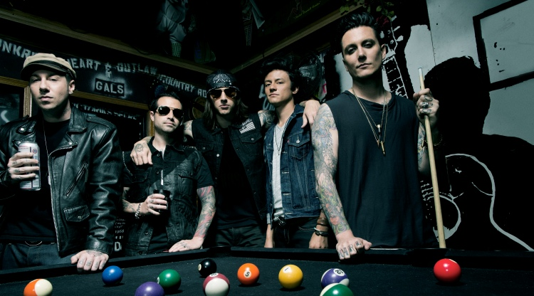 Metal chart-toppers Avenged Sevenfold make their Shanghai debut