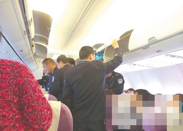 Drunk passenger removed from aircraft after he refuses to fasten seatbelt