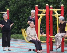 Wenzhou grannies busted taking drugs in so-called 'sports meet'