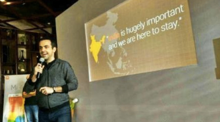 Outrage online after Xiaomi VP accidentally takes India's side in border dispute