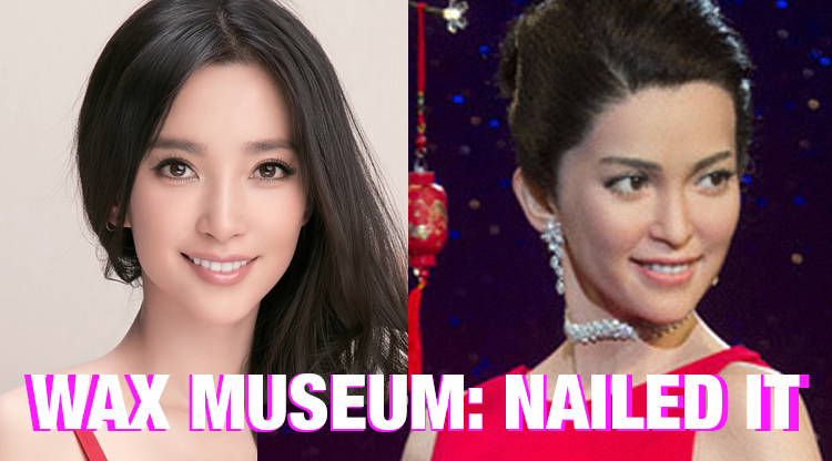 London Madame Tussauds Li Bingbing