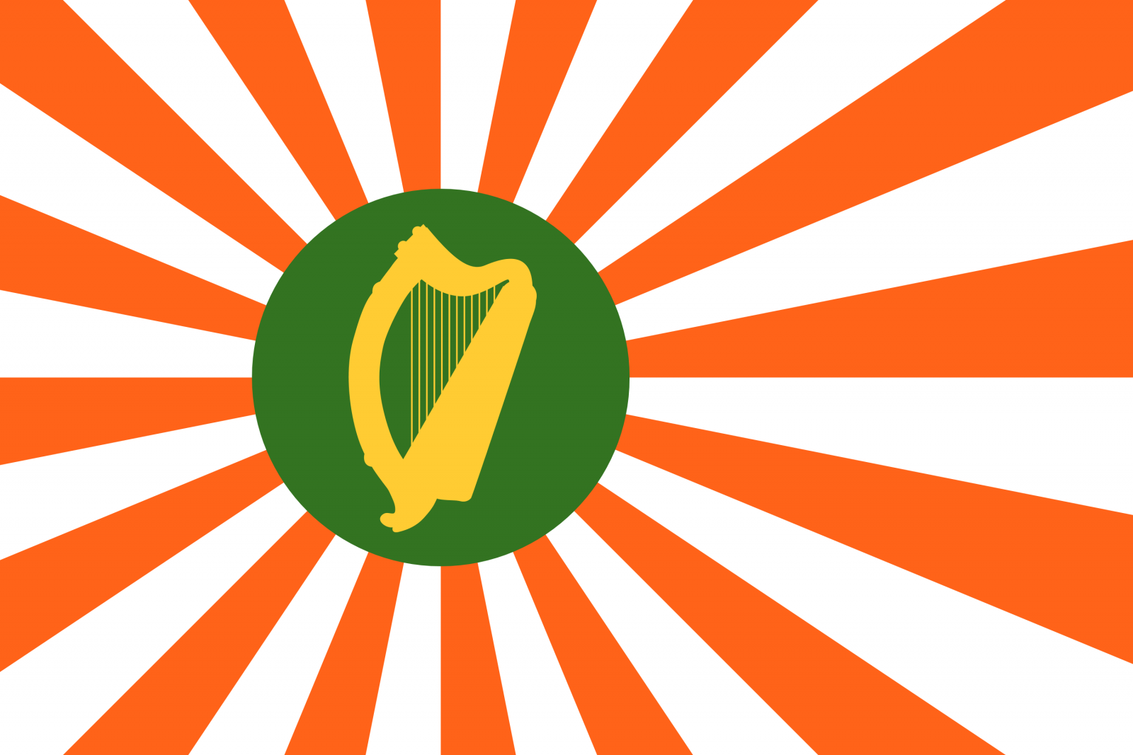 Canadian Mongolia, Russian Japan and Chinese Ireland: the alternative flags of East Asia