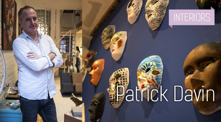 Interiors: Patrick Davin - A Perfect City Bolthole