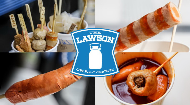 The Lawson's Challenge: Notorious convenience store snacks, tried and tested