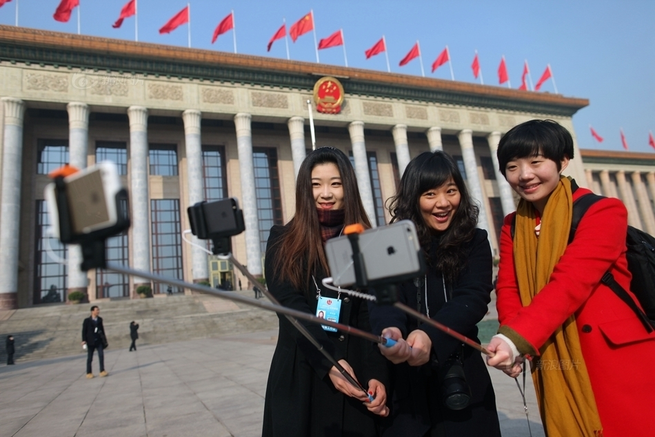 Chinese media mark International Women's Day by calling female NPC delegates 'beautiful scenery'