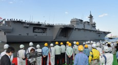 This won't go over well: Japan shows off its biggest warship since WWII
