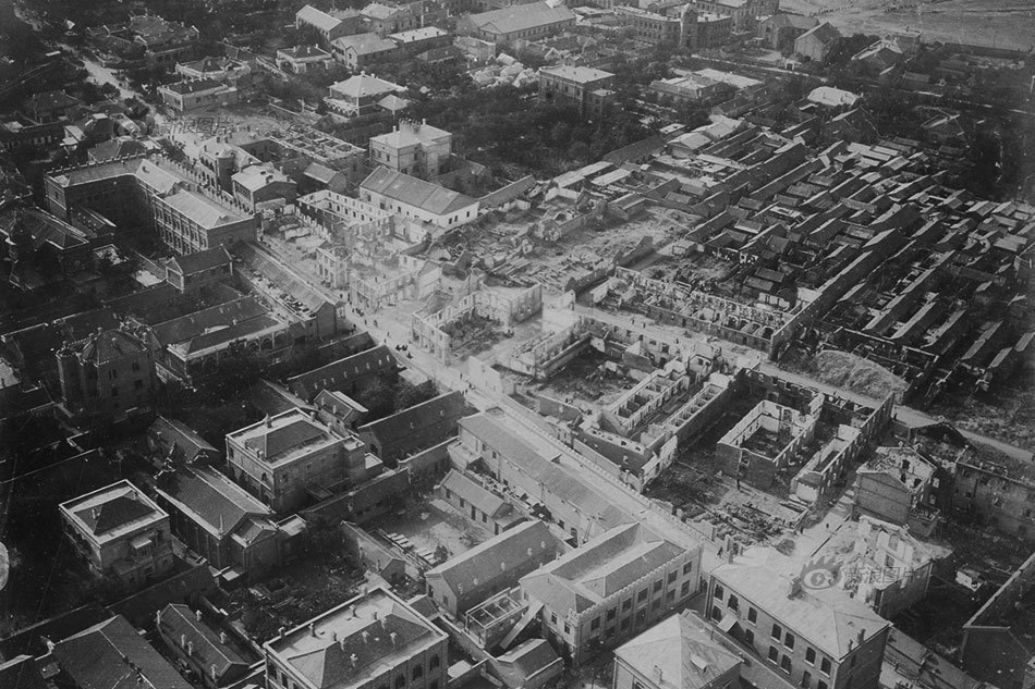 China's first-ever aerial photos show the devastation of anti-foreign Boxer Uprising