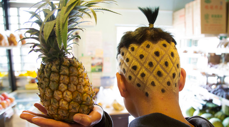 Pineapple Hair Related Keywords & Suggestions - Pineapple Hair Long ...