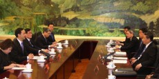 KMT head Eric Chu meets Xi Jinping, reaffirming 'common destiny' for Taiwan and mainland China