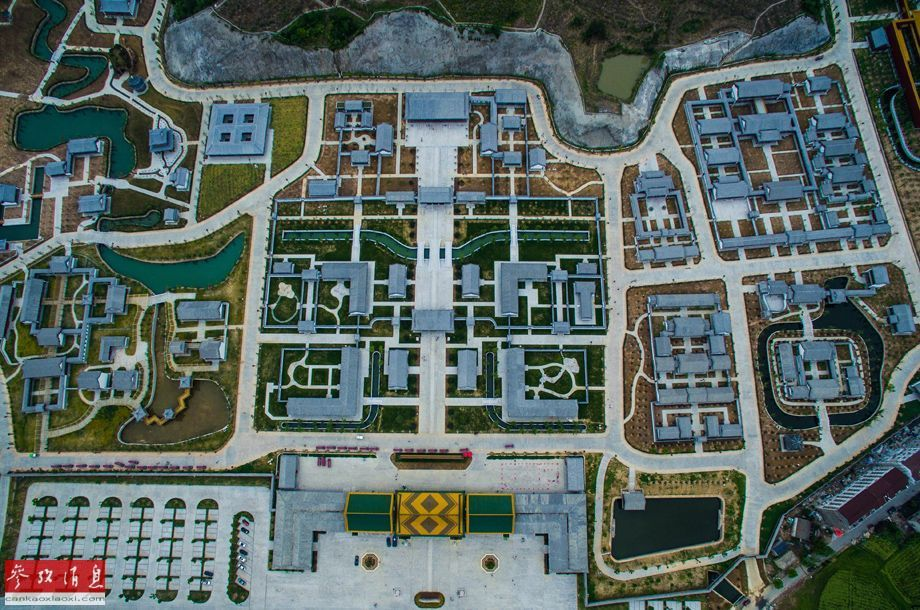 Check out these aerial photos of Zhejiang's ginormous Old Summer Palace recreation