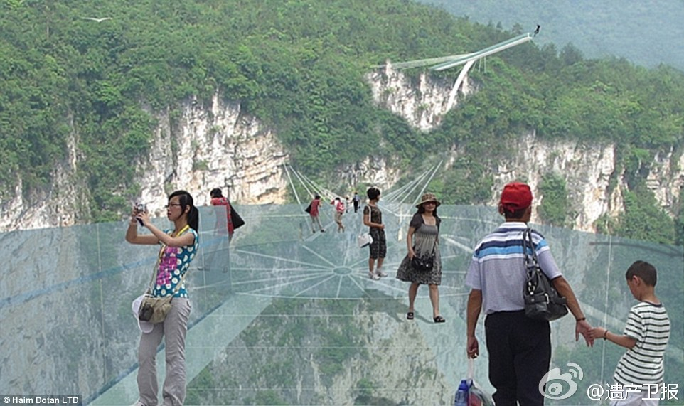 Zhangjiajie to unveil the world's longest glass bridge this July