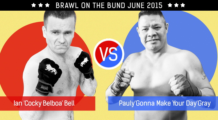 Brawl on The Bund 2015: Ian 'Cocky Belboa' Bell vs. Pauly 'Gonna Make your Day' Gray