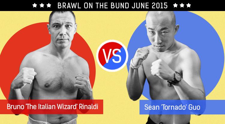 Brawl on The Bund 2015: Bruno 'The Italian Wizard' Rinaldi vs. Steve 'Tornado' Guo
