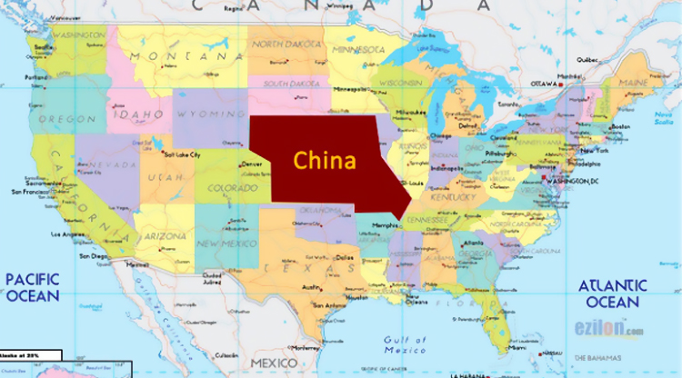 This amazing conspiracy theory has China buying the state of Nebraska from the US government