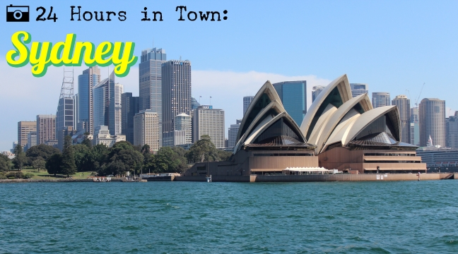 24 Hours in Town: Sydney