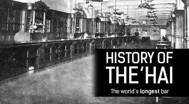 This Day in History: The world's longest bar (in 1910)