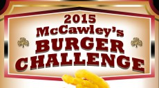 Looking for a challenge? McCawley's has a burger for you