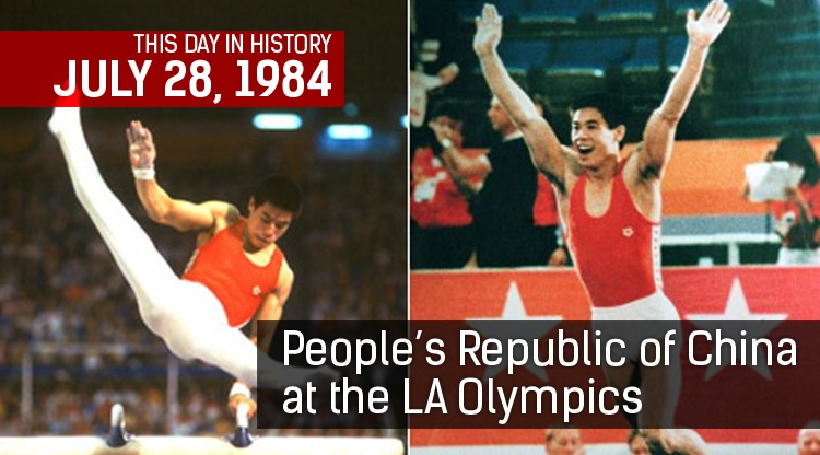 This Day In History: China at the LA Olympics